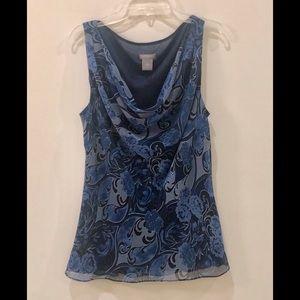 Ann Taylor small sleeveless blouse